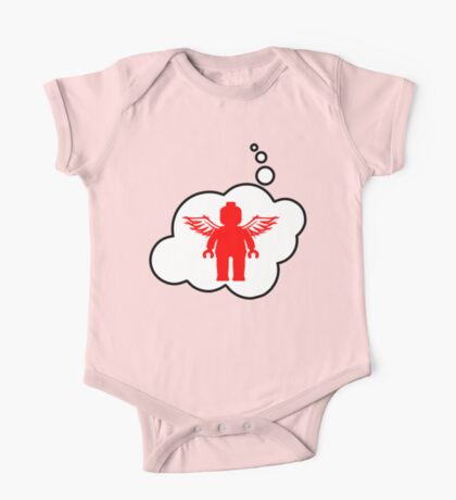 Minifig Angel, Bubble-Tees.com One Piece - Short Sleeve
