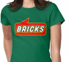 Bricks, Bubble-Tees.com Womens Fitted T-Shirt