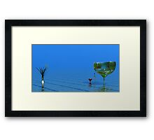 Time Out Framed Print