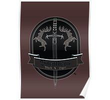 Baratheon Black Lager Poster