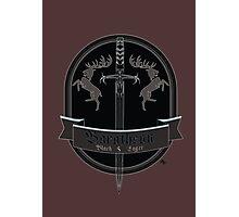 Baratheon Black Lager Photographic Print