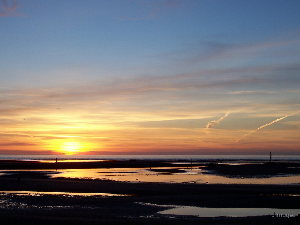Rhyl Sunset by JImage