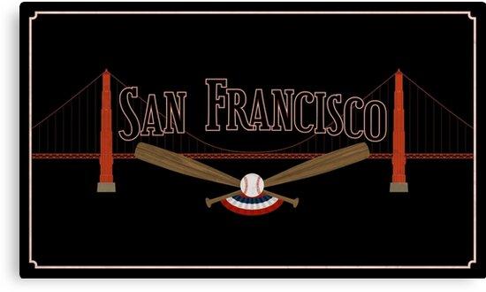 San Francisco Baseball by scbb11Sketch