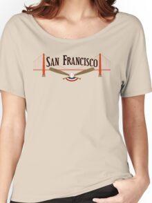 San Francisco Baseball Women's Relaxed Fit T-Shirt