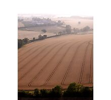 Rolling countryside Photographic Print