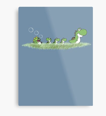 The Ugly Dragoling Metal Print