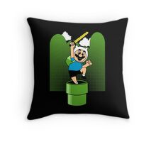 The Finnooki Suit Throw Pillow