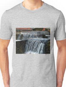 Beautiful Waterfall - falling water Unisex T-Shirt