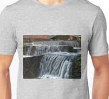 Beautiful Waterfall - falling water Unisex T-Shirt