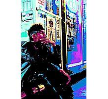 Neon Punk Photographic Print