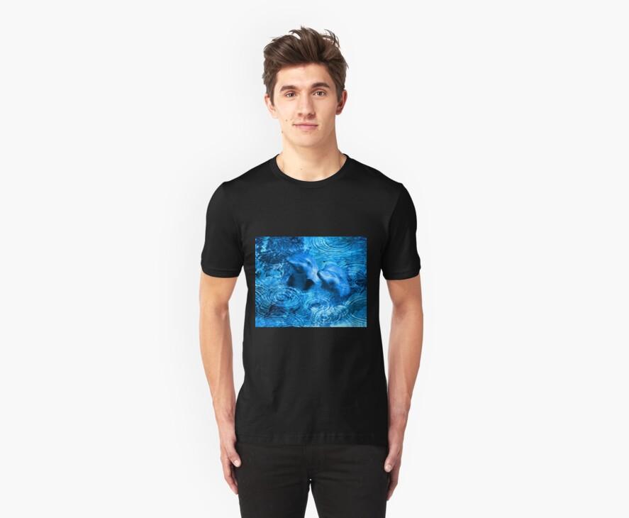 oil dolphins by CheyenneLeslie Hurst