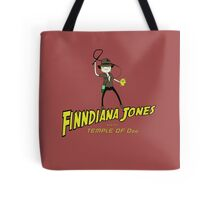 Finndiana Jones and the Temple of Ooo Tote Bag