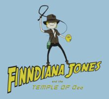 Finndiana Jones and the Temple of Ooo Kids Tee