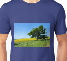 Solitary lonely tree on a hill  Unisex T-Shirt
