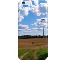 Modern clean alternative energy iPhone Case/Skin