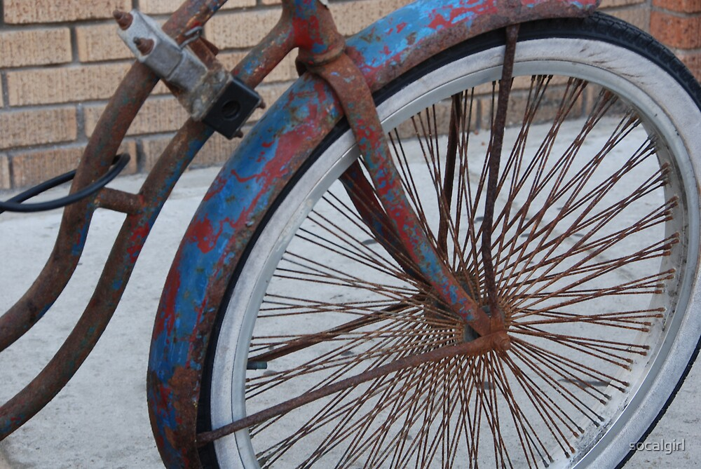 Old Bike by socalgirl
