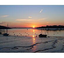 Vibrant sunrise Photographic Print