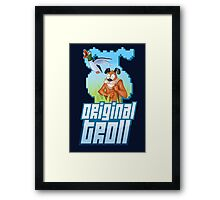 Duck Hunt - The Original Troll Framed Print