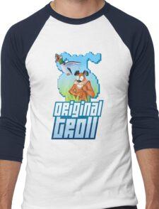 Duck Hunt - The Original Troll Men's Baseball ¾ T-Shirt