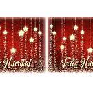 Christmas Stars Feliz Navidad Coffee Mug & Travel Mug by Linda Allan