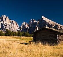 Old house on Seiser Alm by peterwey