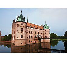 Egeskov castle Funen Denmark  Photographic Print
