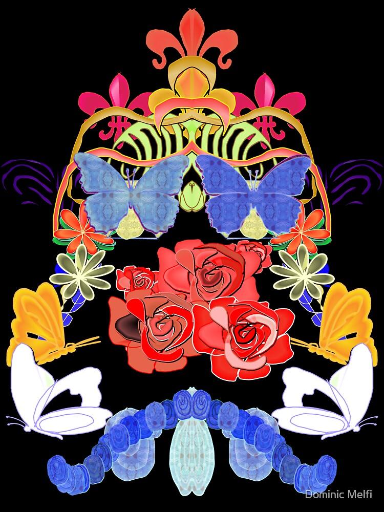 Female Emblem Floral by Dominic Melfi