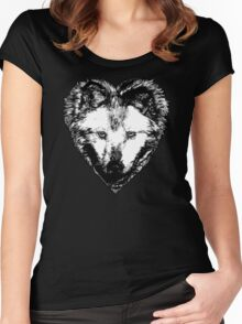 A Hungry heart Women's Fitted Scoop T-Shirt