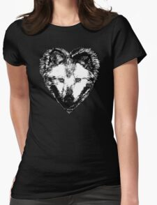 A Hungry heart Womens Fitted T-Shirt