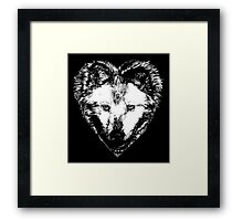 A Hungry heart Framed Print