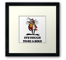 It's Tough to Be a Bird Framed Print