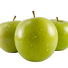 Green Apple Trio by travis manley