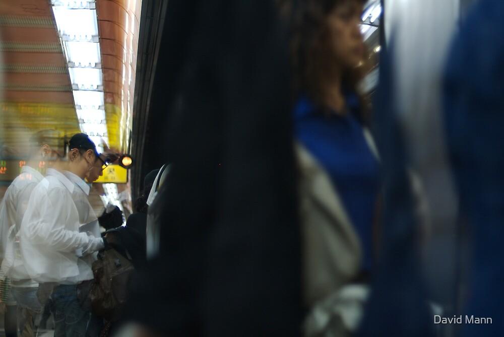 Subway Doors by David Mann