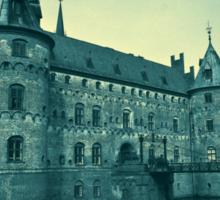 Egeskov castle Funen Denmark Sticker