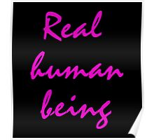 Real - human - being Poster