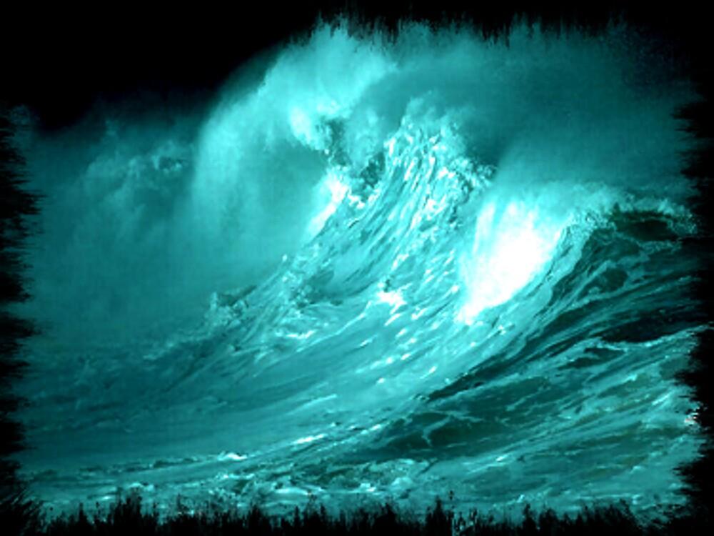ocean wave by CheyenneLeslie Hurst