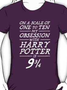 Harry Potter Obsession T-Shirt