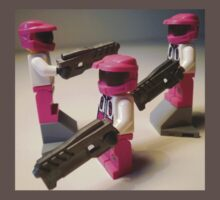 Halo Wars Pink Spartan Soldier Custom Minifig Kids Clothes