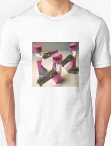 Halo Wars Pink Spartan Soldier Custom Minifig Unisex T-Shirt