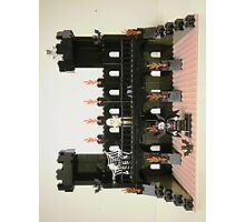 Horror Castle with Vampire, Skeleton and Ghost Minifigs Photographic Print