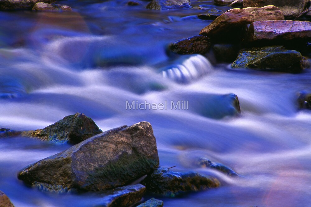 Intimate Cascade by Michael Mill