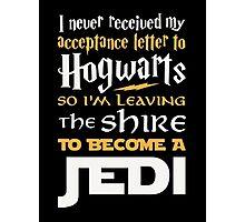 Hogwarts Letter Photographic Print