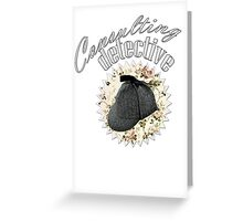 Consulting Detective Greeting Card