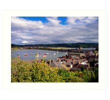 Conwy View Art Print
