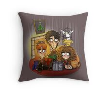A Very Harry Holiday Throw Pillow