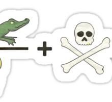 Piratical Equation No. 1 Sticker