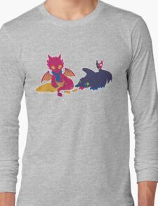 How to train your dragon! Long Sleeve T-Shirt