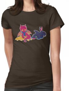 How to train your dragon! Womens Fitted T-Shirt