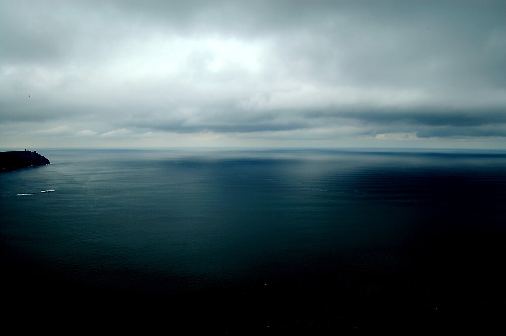 Atlantic from Moher by KaylaMarie