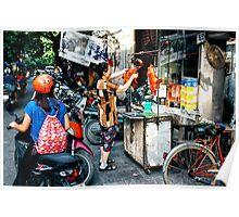 Street Food Hanoi Poster